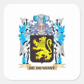 De-Brabant Coat of Arms - Family Crest Sticker
