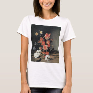 De Bray Narcissi Anemones Tulips and other Flowers T-Shirt
