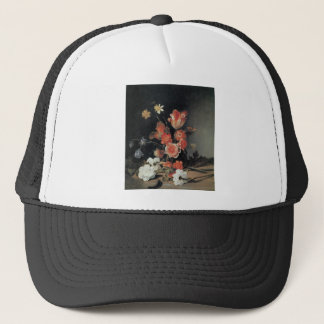 De Bray Narcissi Anemones Tulips and other Flowers Trucker Hat