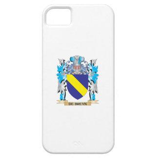 De-Bruyn escudo de armas - escudo de la familia iPhone 5 Carcasas