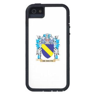 De-Bruyn escudo de armas - escudo de la familia iPhone 5 Protector