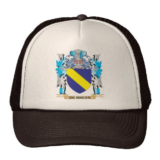De-Bruyn escudo de armas - escudo de la familia Gorras