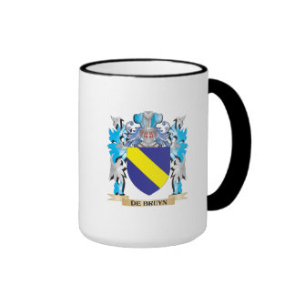 De-Bruyn escudo de armas - escudo de la familia Taza A Dos Colores