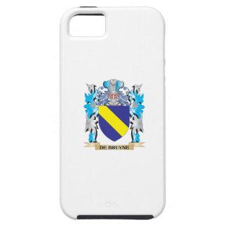 De-Bruyne escudo de armas - escudo de la familia iPhone 5 Coberturas