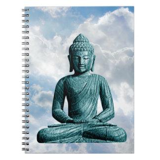 De Buda cuaderno espiral de la foto solamente -