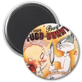 ™ de BUGS BUNNY y Musical de Elmer Fudd Imán De Frigorífico