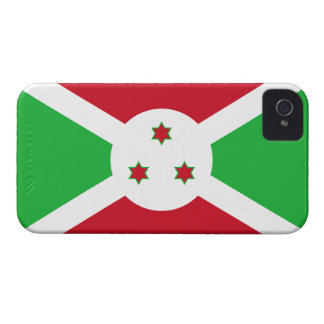 De Burundi de la bandera caso del iPhone 4 de Ther Case-Mate iPhone 4 Carcasa