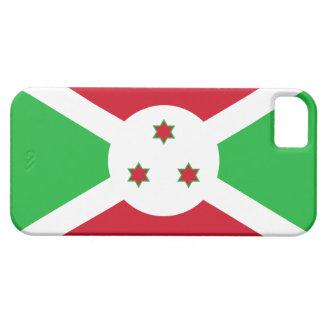 De Burundi de la bandera caso del iPhone 5 de iPhone 5 Funda