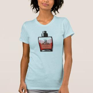 """De """"camiseta azul clara del perfume 2 mujeres del remera"""