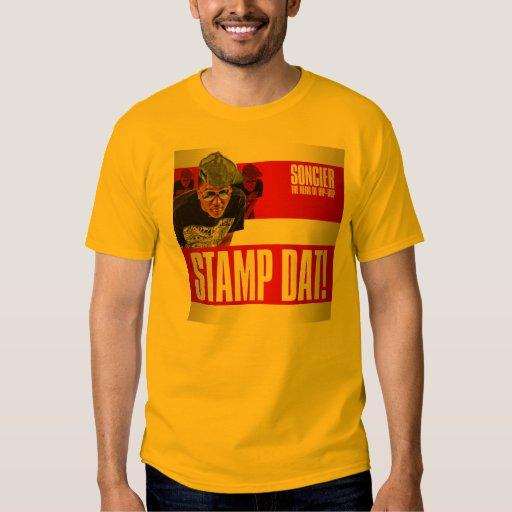 """De """"camiseta Dat del sello"""" de Soncier Remera"""
