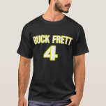"""De """"camiseta Frett del dólar"""" de Brett Favre Playera"""