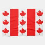 ¡De Canadá de la bandera canadiense oh Canadá orgu Toallas