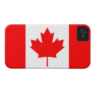De Canadá de la bandera caso del iPhone 4 de There iPhone 4 Protectores