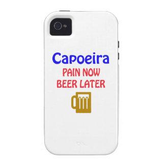 De Capoeira del dolor cerveza ahora más adelante Vibe iPhone 4 Carcasa