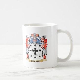 De-Caro escudo de armas - escudo de la familia Taza De Café