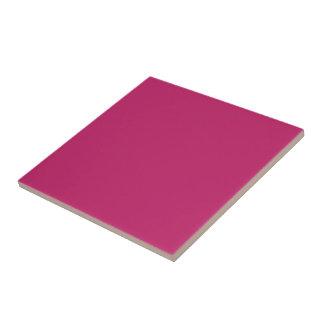 De cerámica rosado quemada azulejo cuadrado pequeño