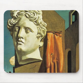 De Chirico Love Song Mouse Pad