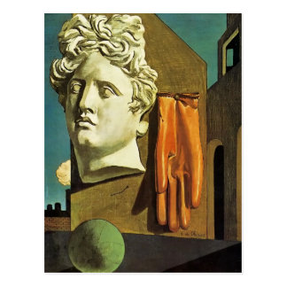 De Chirico Love Song Postcard