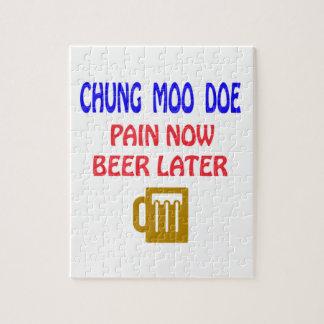 De Chungkin del MOO de la gama del dolor cerveza Rompecabezas