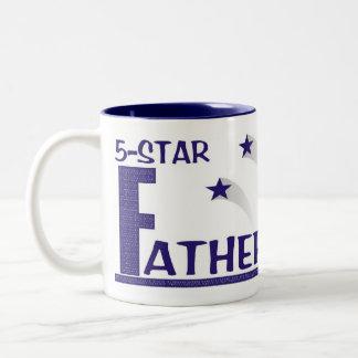 de cinco estrellas Padre-en-law© la taza