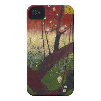 De ciruelo del árbol iPhone floreciente 4 de Funda Para iPhone 4