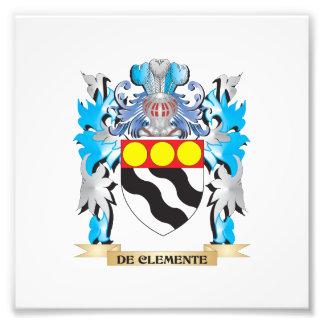 De-Clemente Coat of Arms - Family Crest Photograph