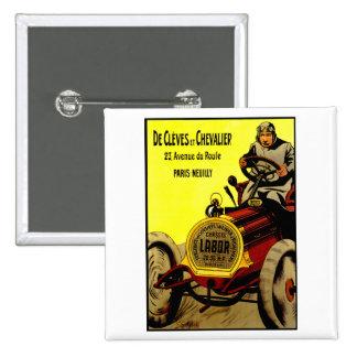 De Cleves y anuncio del automóvil del vintage del Pins