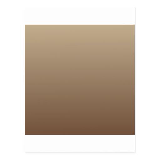 De color caqui a la pendiente horizontal del café postales