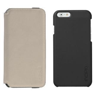 De color caqui funda billetera para iPhone 6 watson