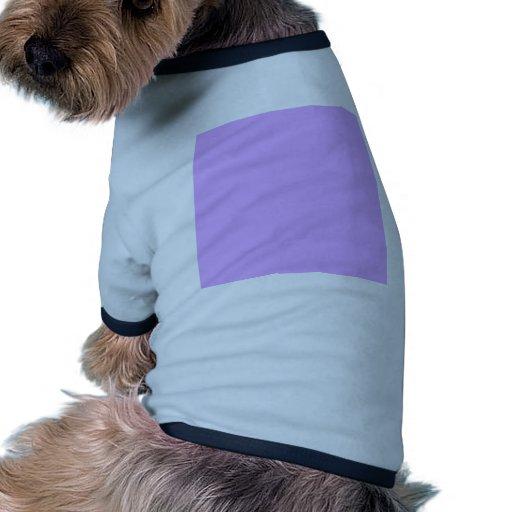 De color de malva camisetas mascota