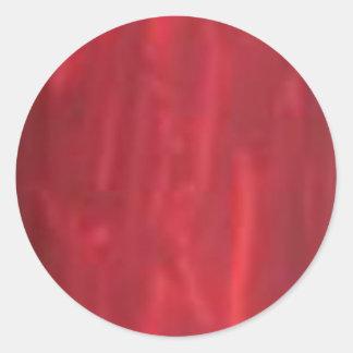 De color rojo oscuro - el artista creó mirada de etiquetas redondas