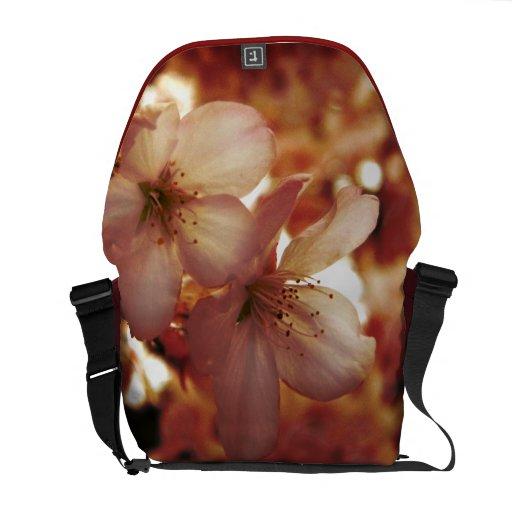 De color rosa oscuro bolsa de mensajeria