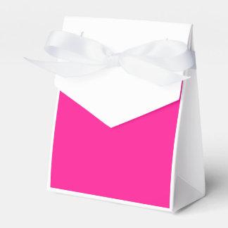 De color rosa oscuro cajas para regalos de fiestas