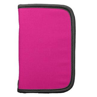 De color rosa oscuro planificador