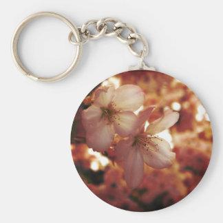 De color rosa oscuro llavero redondo tipo pin