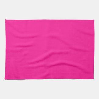 De color rosa oscuro toalla