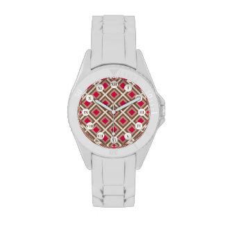 De color topo de color topo, ligero, diamantes de  reloj