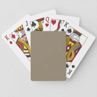 De color topo baraja de póquer
