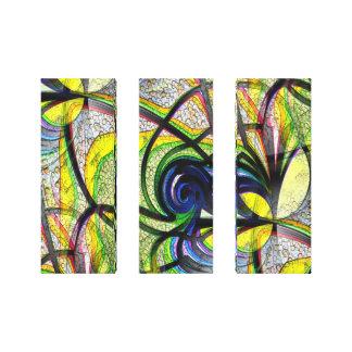 De colores impresión en lona estirada