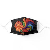 De Colores Rooster Cloth Face Mask