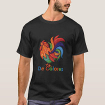 De Colores Rooster Gallo Men's T-Shirt