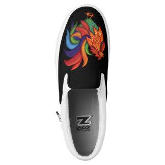 De Colores Rooster Gallo Zipz Slip On Shoes