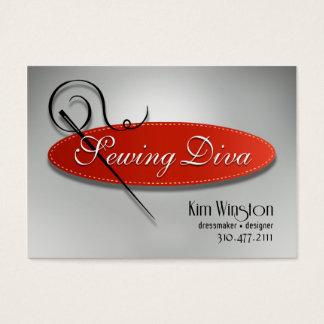 """De """"costurera costura de la diva"""" -, modista, tarjeta de negocios"""