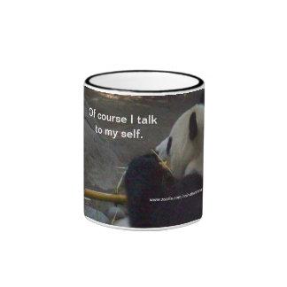 De Cource hablo con mi taza de café del oso de pan