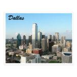 de Dallas ciudad abajo Postal