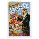 ~ de Dante el acto mágico del vintage misterioso d Felicitaciones