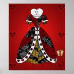 """De """"de los corazones toda la impresión reina"""" posters"""