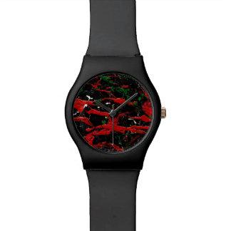 ~ DE DESTELLO del FUEGO (un diseño del arte Relojes De Mano