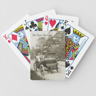 De Dion Bouton Voiturette Bicycle Playing Cards