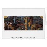 ¿De dónde venimos? Por Paul Gauguin Tarjeta De Felicitación
